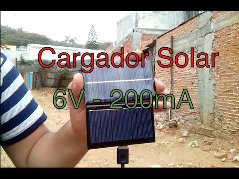 Cargador Solar Para Celular O Tableta Casero Oaxaca