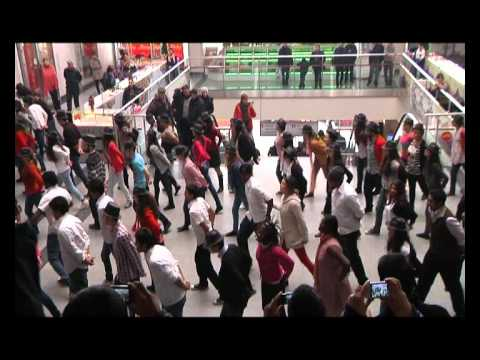 FLASHMOB IN TRADE CENTER TBILISI CENTRAL, TBILISI STATE MEDICAL UNIVERSITY