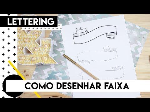 Como desenhar uma faixa | by Aline Albino