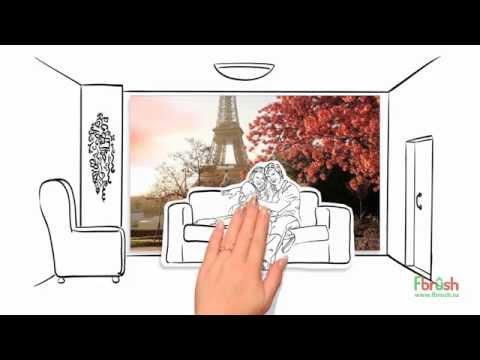 фотообои и фрески Fbrush