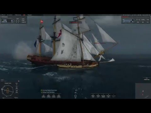 Naval Action - French  Fleet 15 March 2015