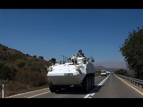 Filipino UN troops escape standoff in the Golan Heights