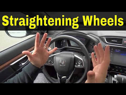 Straightening Your Wheels When Parking-Driving Lesson
