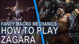 Starcraft II: How to Play Zagara [With Creep Spread and Larva Inject]