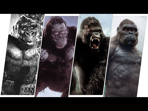 King Kong Evolution in Movies (2020)