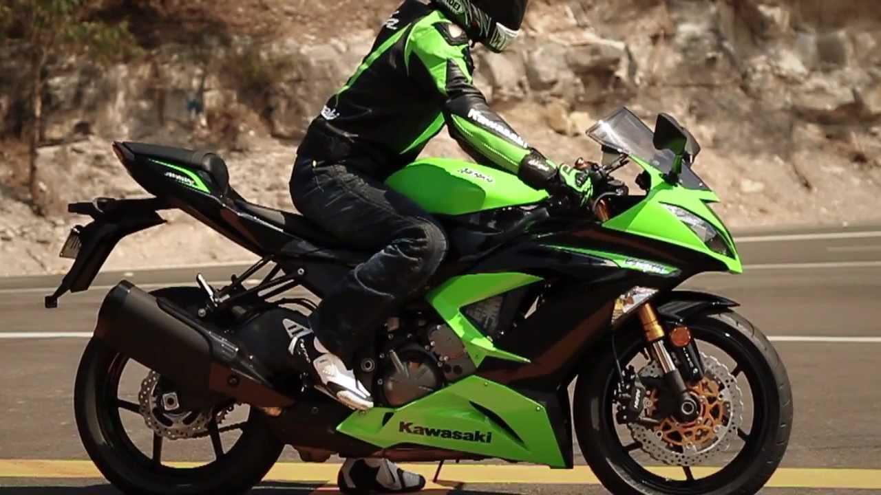 2018 Kawasaki NINJA ZX-6R ABS Motorcycle - YouTube