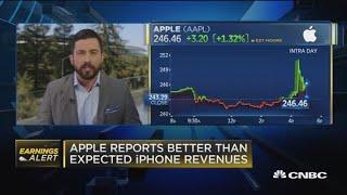 Gambar cover Facebook, Apple report earnings