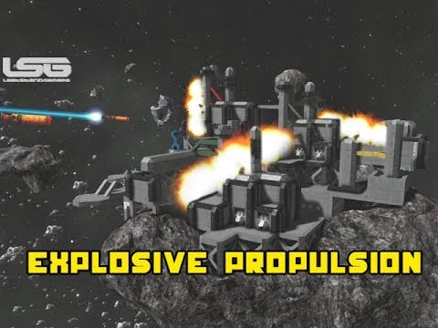 Space engineers explosive propulsion theory whoops melt for Space 120 architects