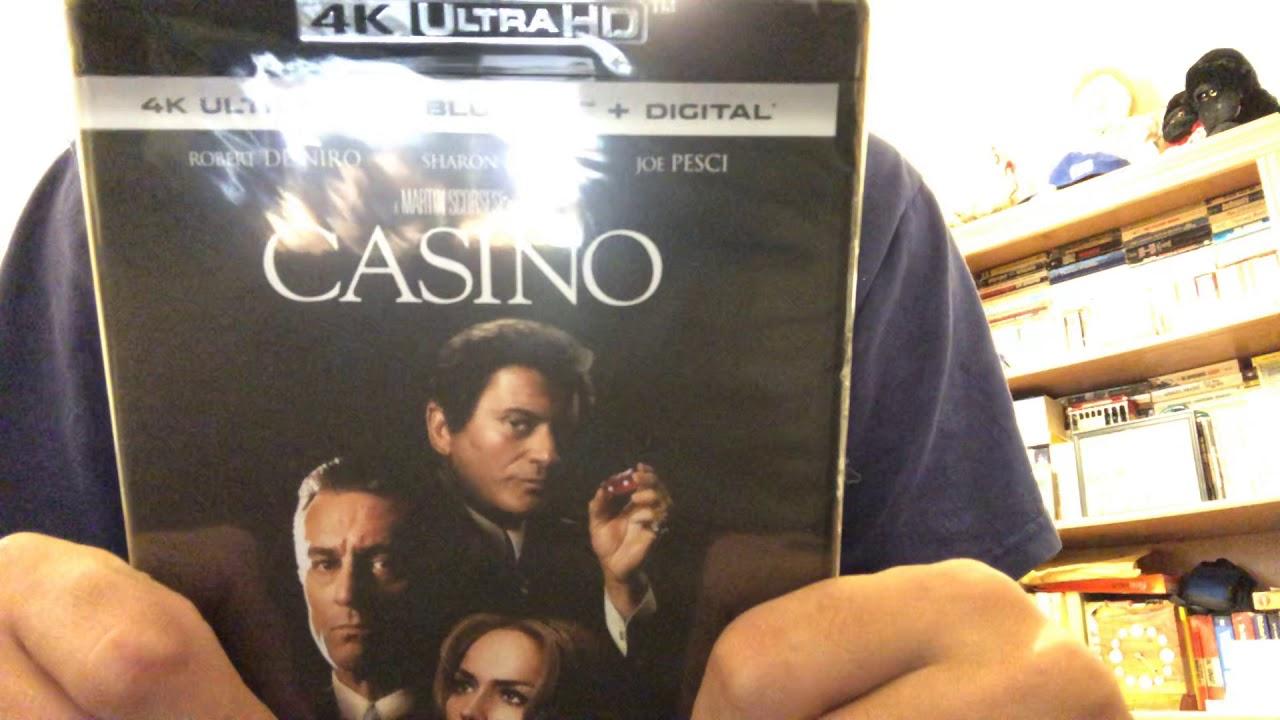 Casino 4k Ultra Hd Blu Ray Unboxing Youtube