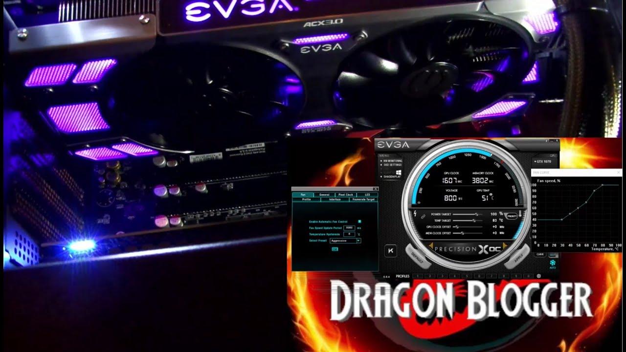 EVGA GeForce GTX 1070 FTW ACX 3 0 Video Card - A closer look