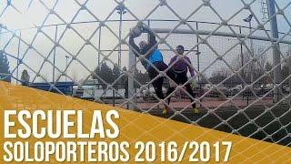 Escuelas Soloporteros 2016/2017: Inscripciones abiertas