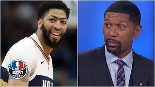 I don't envision Anthony Davis moving before the NBA trade deadline - Jalen Rose | NBA Countdown