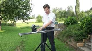Repeat youtube video Camera Slider - Jak si ho vyrobit za 300,- (How make to cheap slider)