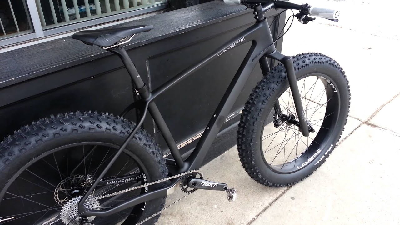 197mm LaMere Carbon Fat Bike - YouTube