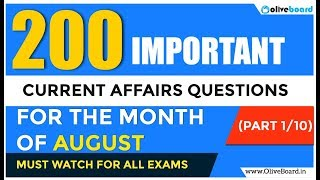 Download Video 200 Most Important GK Questions for August | Part 1 MP3 3GP MP4