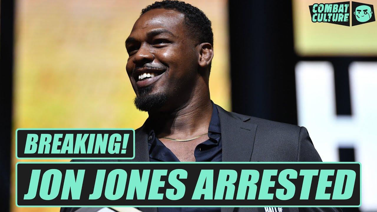 Former UFC champ Jon Jones jailed in Vegas battery incident