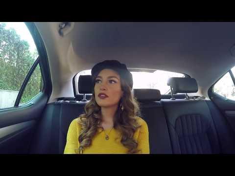 Mos i fol shoferit - Eva Murati dhe Zhaklin Lekatari në taksinë e Rudina Dembacaj