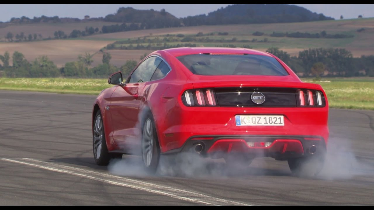Ford Mustang GT: Burnout-Syndrom - Die Tester | auto motor und sport ...