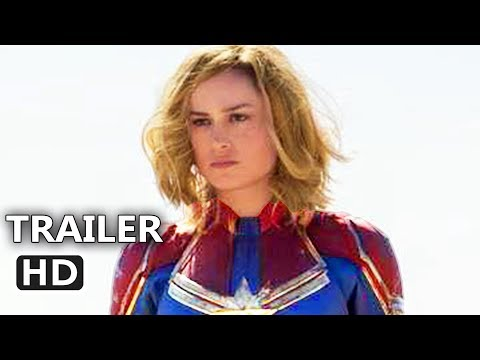Play CAPTAIN MARVEL Official Trailer (2019) Superhero Movie HD