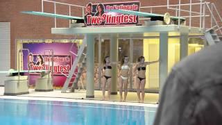 De Nationale Tweelingtest  Synchroon zwemmen