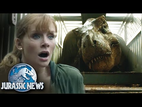 BARYONYX + T-REX REVEAL! Reaction + Thoughts! | Jurassic World News Update