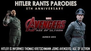 Hitler is informed Thomas Kretschmann joins Avengers: Age Of Ultron