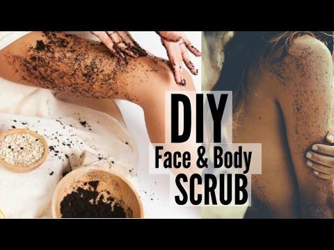 DIY: Coffee Scrub To Get Rid Of Body Acne \u0026 Cellulite!
