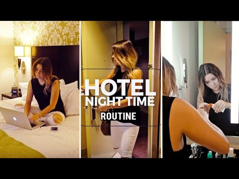 my-hotel-night-time-routine