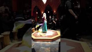 Belly Dancer Paula At Mediterranean Cruise Cafe- Burnsville, MN. Cassandra School/Jawaahir Dance Co.