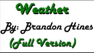 Watch Brandon Hines Weather video
