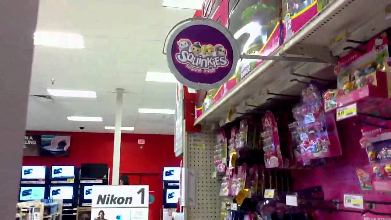 Target Girls Toy Section Youtube