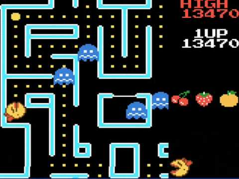 Ms. Pac-Man On The Game Boy Color