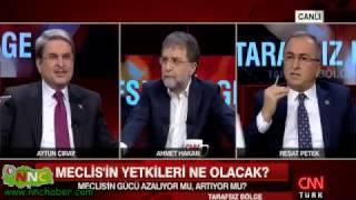 """Türkiye Bu Sözü Konuşuyor. AK Parti Burdur Milletvekili Reşat Petek :""""Özür Dilemezsen Şerefsizsin"""""""