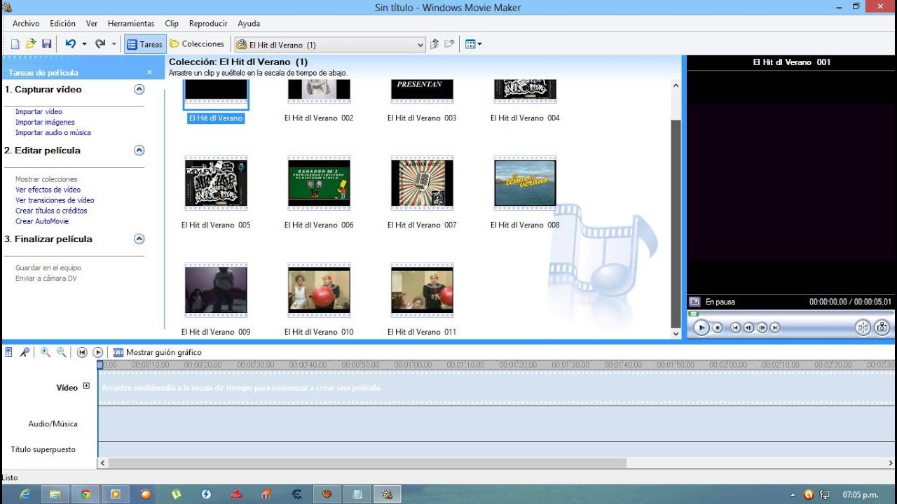 Movie Maker 2.6 - Editor de windows clásico