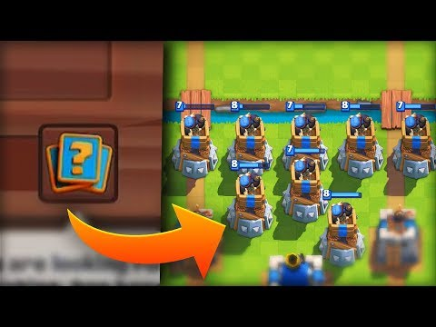 I CAN'T BELIEVE SUPERCELL GAVE ME THIS DECK in Clash Royale!