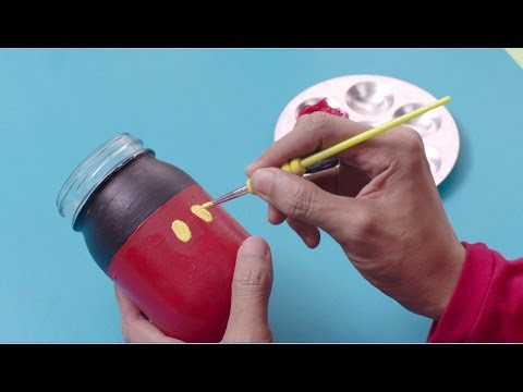 Art Attack | #ShowMeYourArt Episode 3: Mickey Mouse Jar - Disney Channel Asia