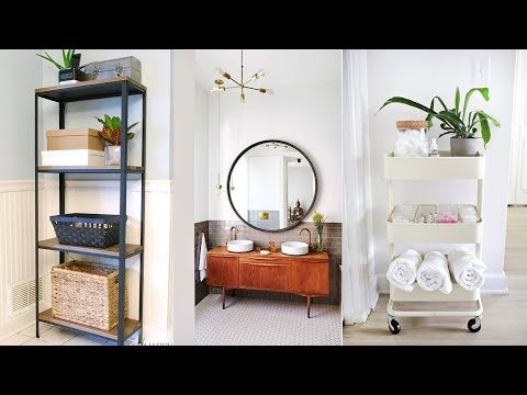 7 Ways to Use Ikea Items in the Bathroom