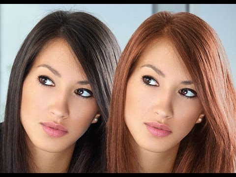 How to change hair color in photoshop cs6 tutorial - YouTube