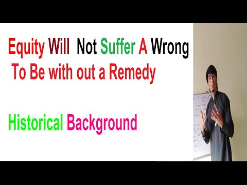 What is Equity and How Equity Law Developed   Historical Background Of Law Of Equity