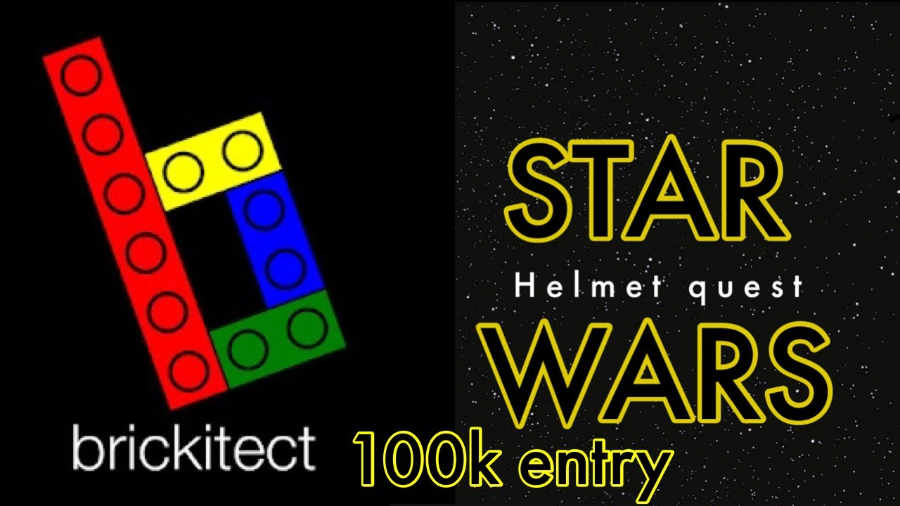 lego star wars episode 100 helment questbrickitect 100k