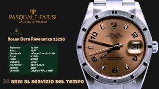 Rolex Date 15210 salmone orologi di lusso