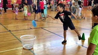 Elementary School Gym Carnival Games Ideas