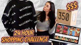 24 HOUR ONLINE SHOPPING CHALLENGE!!