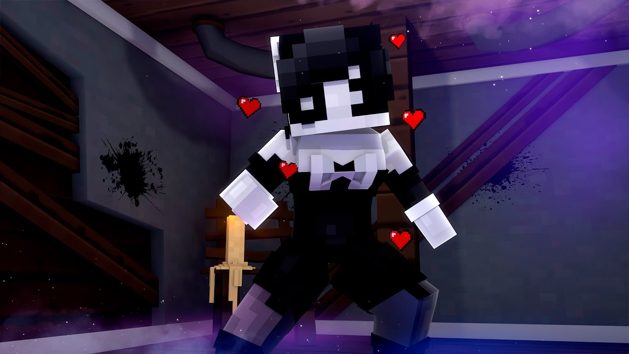 Bendy Skin And Alice Machine Monster Ink Minecraft