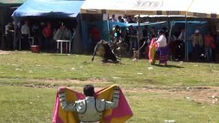 SACHABAMBA AYACUCHO 2015 II CORRIDA DE TOROS