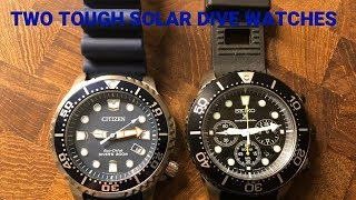 Tough As Nails! These $200 Solar Dive Watches Will Survive Anything