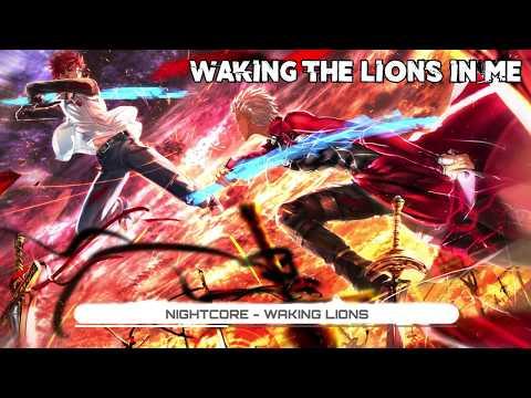 Nightcore - Waking Lions - Pop Evil (Lyrics) ★