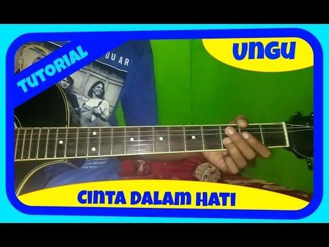 Belajar Melodi Gitar Ungu Cinta Dalam Hati
