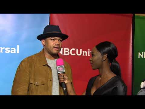 Anthony Hemingway talks about revelance of Tupac & Biggie | NBCUniveral 2018 Press Tour