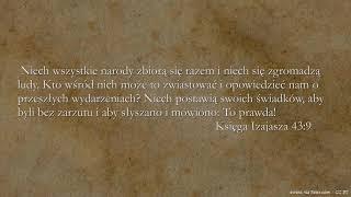 BIBLIA NA CO DZIEŃ: Księga Izajasza #43 cz. 1